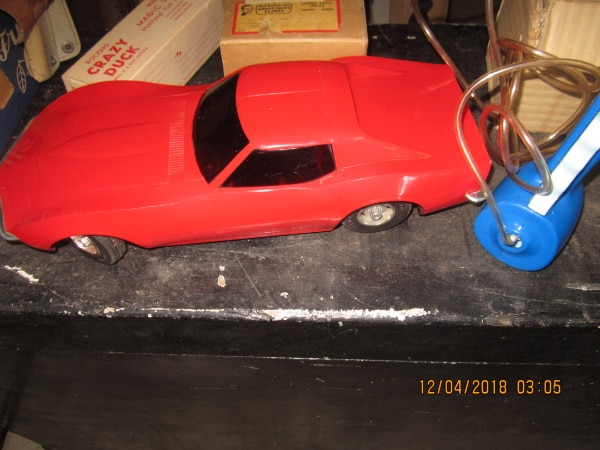 Brukt 1960 S Eldon Battery Operated Plastic Corvette Til Salgs I Brantford