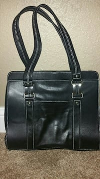 NEW, Leather Perlina handbag, never used