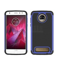 New Moto Moto Z2 Force cell case Rugged Hybrid Manchester, 03103