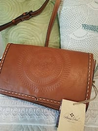 ATHENIC PATRICIA NASH LEATHER PURSE WITH DUST COVE Lincoln, 95648
