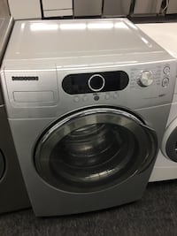 white Samsung front-load clothes washer Toronto, M3J