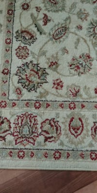 white, red, and green floral area rug Montgomery, 36106