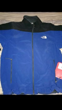 Black and blue northface jacjet (lrg) Alameda