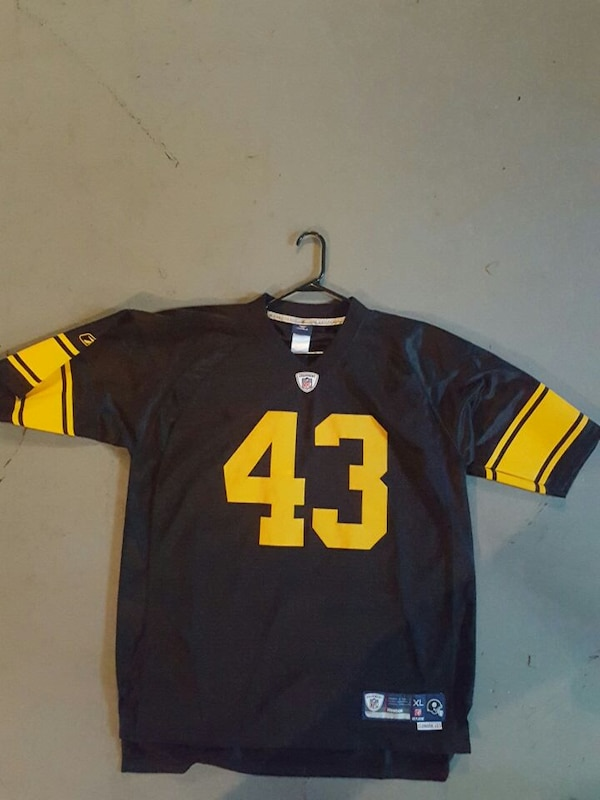 more photos 562b8 f90be Used Troy Polamalu throwback jersey for sale in Clarksville ...