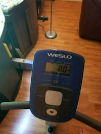 Weslo stationary bike  22 mi