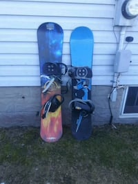 Snowboards and boots Saint Thomas, N5P 1E4