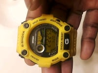 Canary yellow G-Shock watch Liverpool, 13090