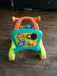 baby's green and blue activity learning walker London, N5V 1J3