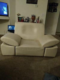 Monte Carlo by Kam white leather sofa Charlotte, 28212