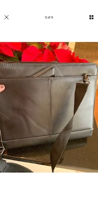 women's gray leather tote bag Jessup, 20794