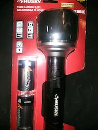 Husky 1000 lumen flashlight $20