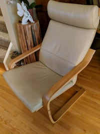 Leather IKEA lounger Burlington, L7L 1E1