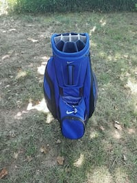 blue and black golf bag Raleigh, 27617
