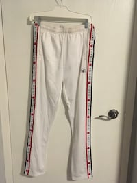 Rocawear Women's White Track Pant with Red/Navy Blue Detailing London, N6G