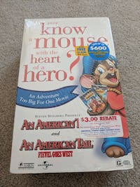 VHS Tape Ever know a mouse with a heart of a hero  New York, 10021