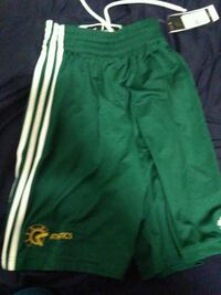 Green addidas shorts  Edmonton, T6H 4W2