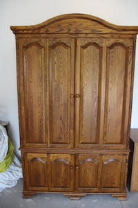 Solid Oak Cabinet Meaford