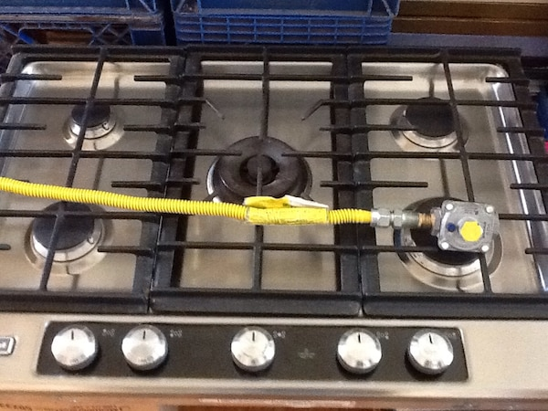 Used Gray And Black 5 Burner Gas Stove For Sale In Westminster Letgo