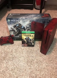 Xbox One S 2TB (GearsOfWar 4 Edition) *LIKE NEW* Black Friday Sale!