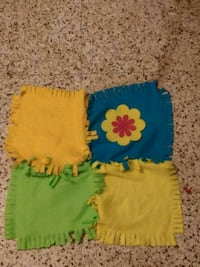 green and yellow floral textile Chalmette