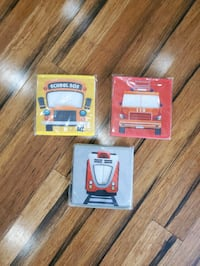 New in plastic transportation storage cubes