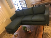 gray chaise couch Kitchener, N2R