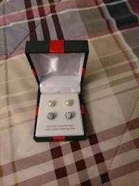 Women's Earrings 2 pair set.   Silver Spring, 20905
