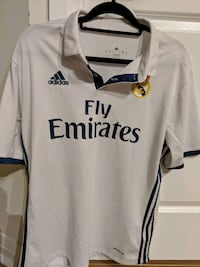 Real Madrid soccer football jersey Large Mississauga