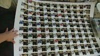 14-15 Upper Deck The Cup,limited logos uncut sheet Burnaby