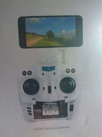 2.4 GHz white Polaroid remote controller