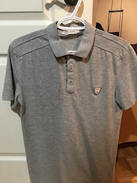 MENS GREY POLO SIZE LARGE Laval, H7M 1B6