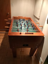 Wooden Foosball Table Whitby, L1P