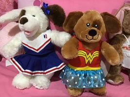 Build a bears $15.00 each or two for $25.00
