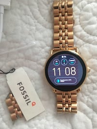 Rose gold Fossil Q Wander Generation 2  Mercedes, 78570