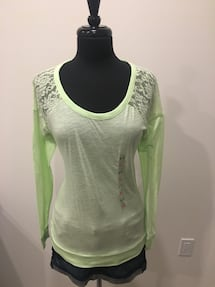 Lace top from PINK size S