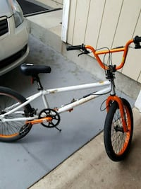 white and red BMX bike Pacifica, 94044