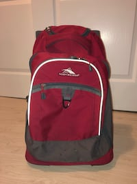 Red Rolling Backpack (barely used) Freehold, 07728