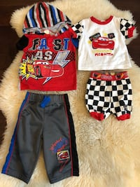 Lightening McQueen outfits Vancouver