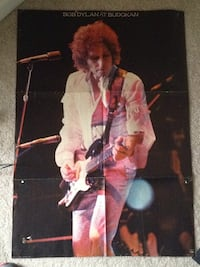 Bob Dylan poster 1978 Winchester, 40391