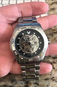 Men's Mickey Mouse Disney watch.  Officially licensed and bought at Disneyland 10 years ago.  Only worn 3 times.  Really nice movement.  Bought for $436.  Surprise the Disney collector in your family with this gift..  Must see video at: https://youtu.be/q Fullerton, 92831