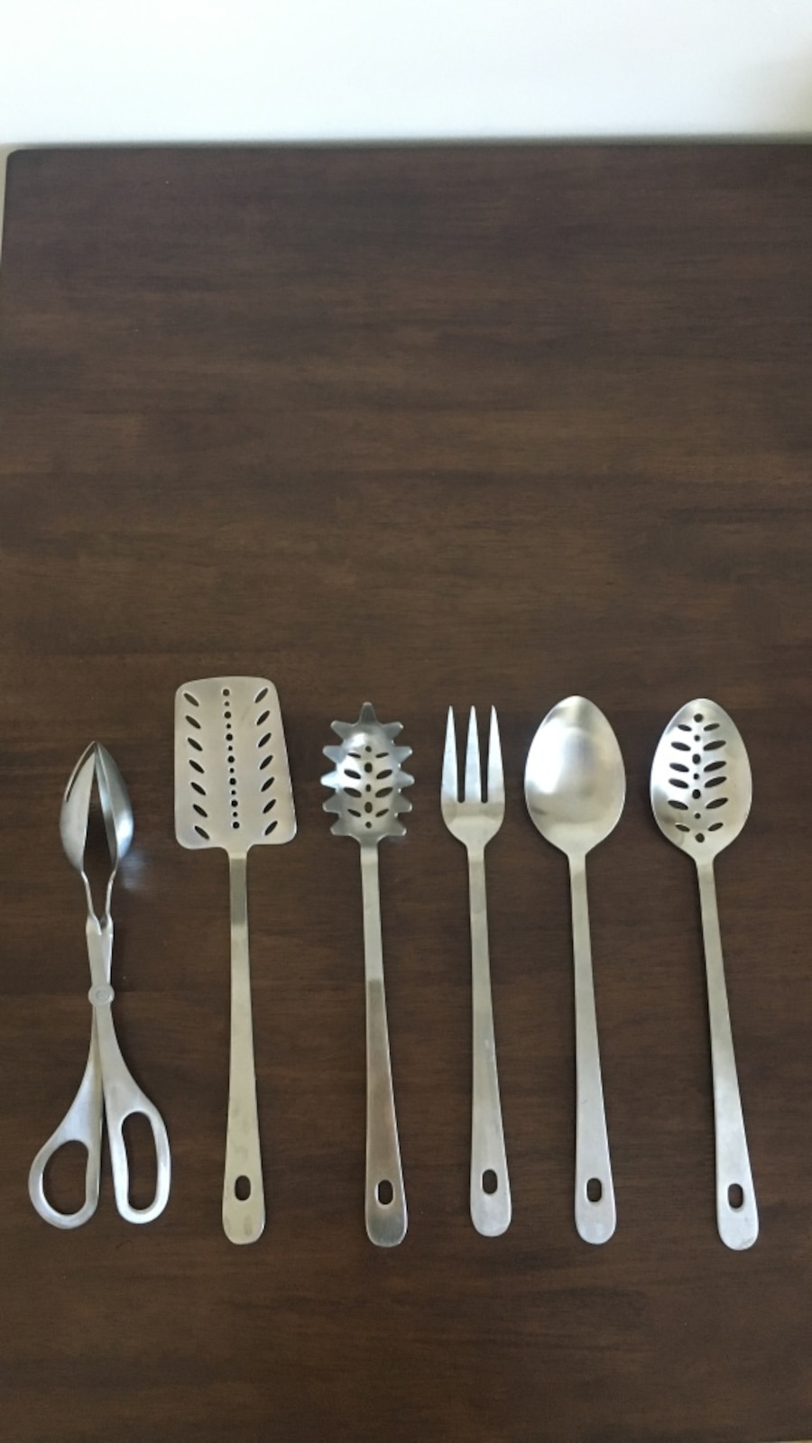 Amco stainless steel utensil set