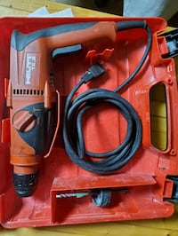 Hilti Hammer drill and original case