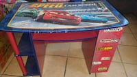 red and blue wooden cars desk Antioch, 94531