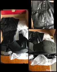 8.5 w tall boots never worn Puyallup, 98374