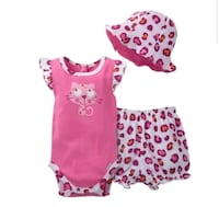 Gerber Girls 3 Piece Set 0-3 Months Germantown, 20876