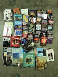 60+ books, Steven King mostly  Riverbank, 95367