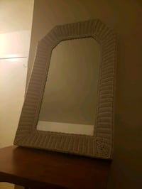2 White Wicker Frame Mirrors  Wilmington, 19805