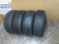 Semi new set of 4 tires P265/65/R17 BRAND DUNLOP Santa Fe Springs, 90670