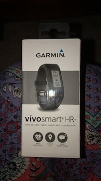 Black garmin vivo smart hr activity tracker box Crestwood, 60418