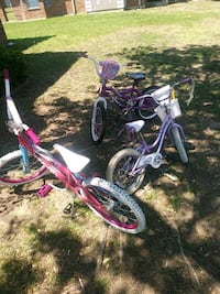 3 young girl bikes Dallas, 75212